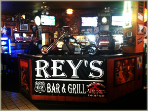 Rey's Route 62 Bar & Grill.